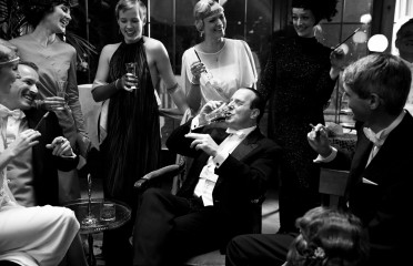 (c) Belle Epoque - Fotograf Tim Fulda : Fritz Lang (H. Ferch) in seiner Villa